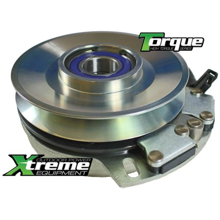 Replaces Toro Mower PTO Clutch 108-9511 - FREE Upgraded Bearings & Billet  Pulley