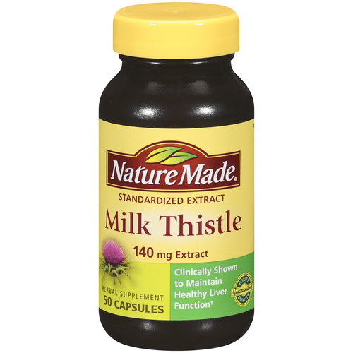 Milk Thistle Extract 140 mg - 50 Capsules by Nature Made
