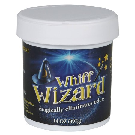 (Whiff Wizard Odor Absorbing Neutralizing Gel, 14-Ounces)