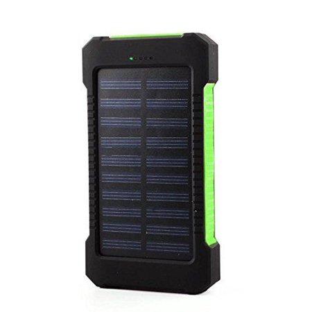 Solar Charger, Tagital 300,000mAh Solar Power Bank External Battery Pack with Dual USB Port LED Flashlight for iPhone, Samsung, Cellphones, iPad, Tablet, Camera, GPS and other USB