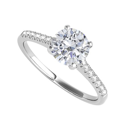 Zirkonia Damen-ring Verlobungsring 925 Sterlingsilber