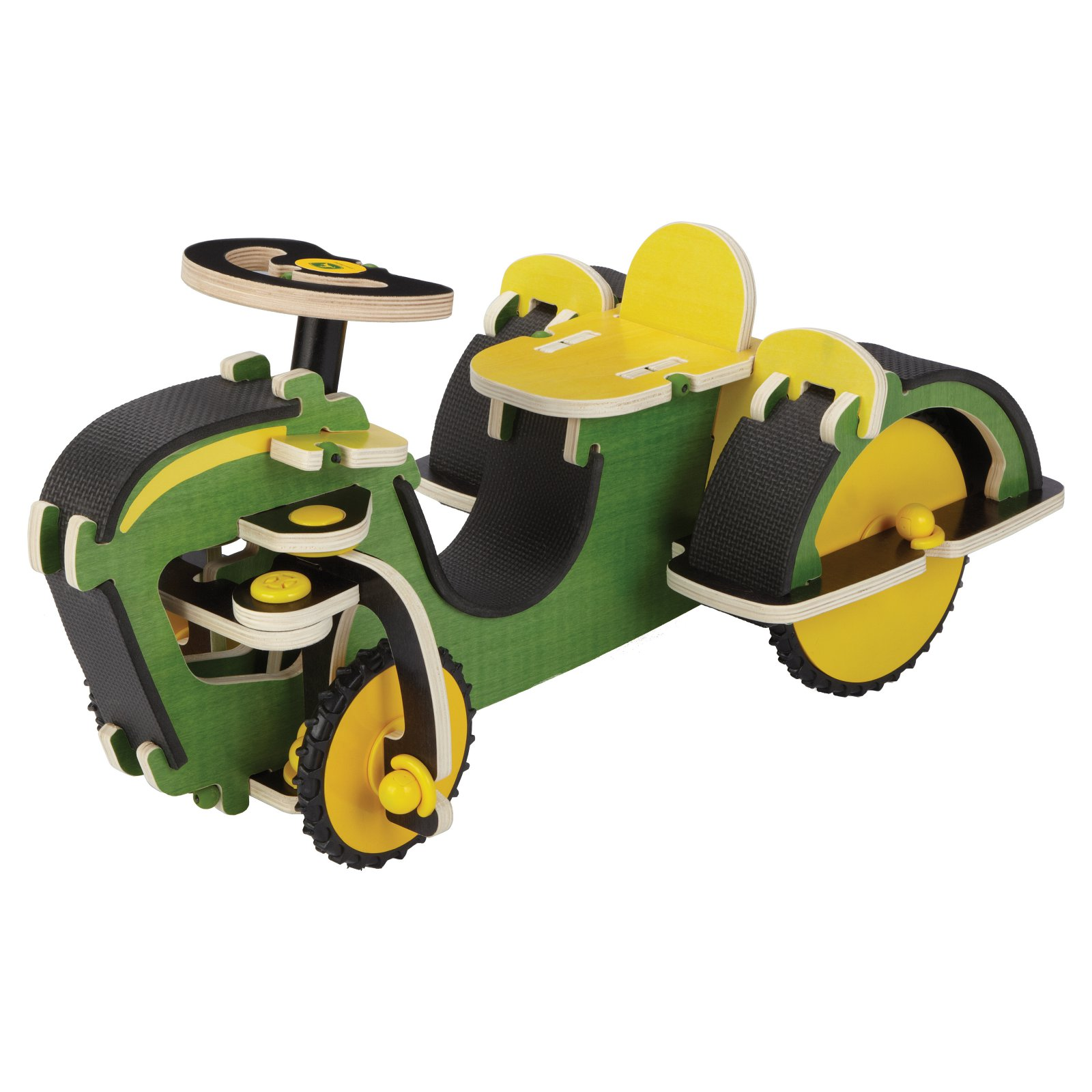 Buildex John Deere Build N Ride Tractor Riding Push Toy