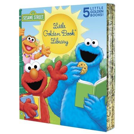 Sesame Street Little Golden Book Library 5 copy boxed set - Sesame Street Set