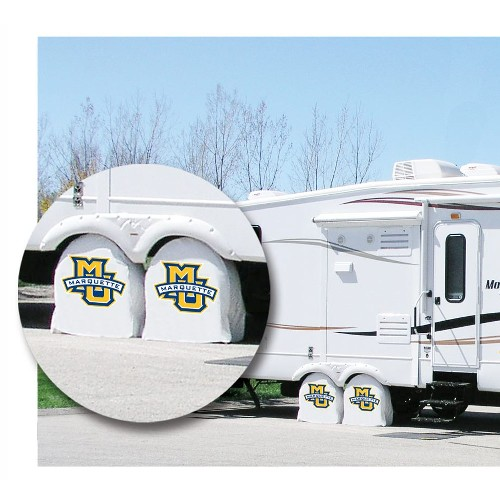 NCAA Tire Shade by Holland Bar Stool, Marquette University - 32.25 L x 12 D Inches