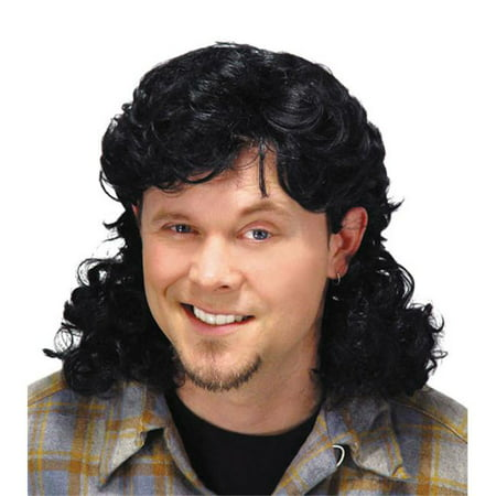 Mullet Wig Black - image 1 de 1