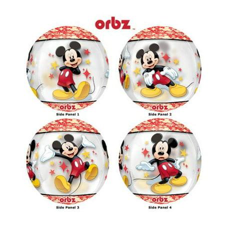"""Burton & Burton 16"""" Orbz Mickey Mouse Balloon"""