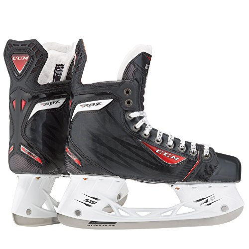 New CCM RBZ 90 Jr SK90 5 D Black Red Ice Hockey Skates Junior by CCM