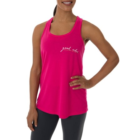 cff1837ad244d1 Athletic Works - Athletic Works Women's Fitspiration Active Graphic Tank -  Walmart.com