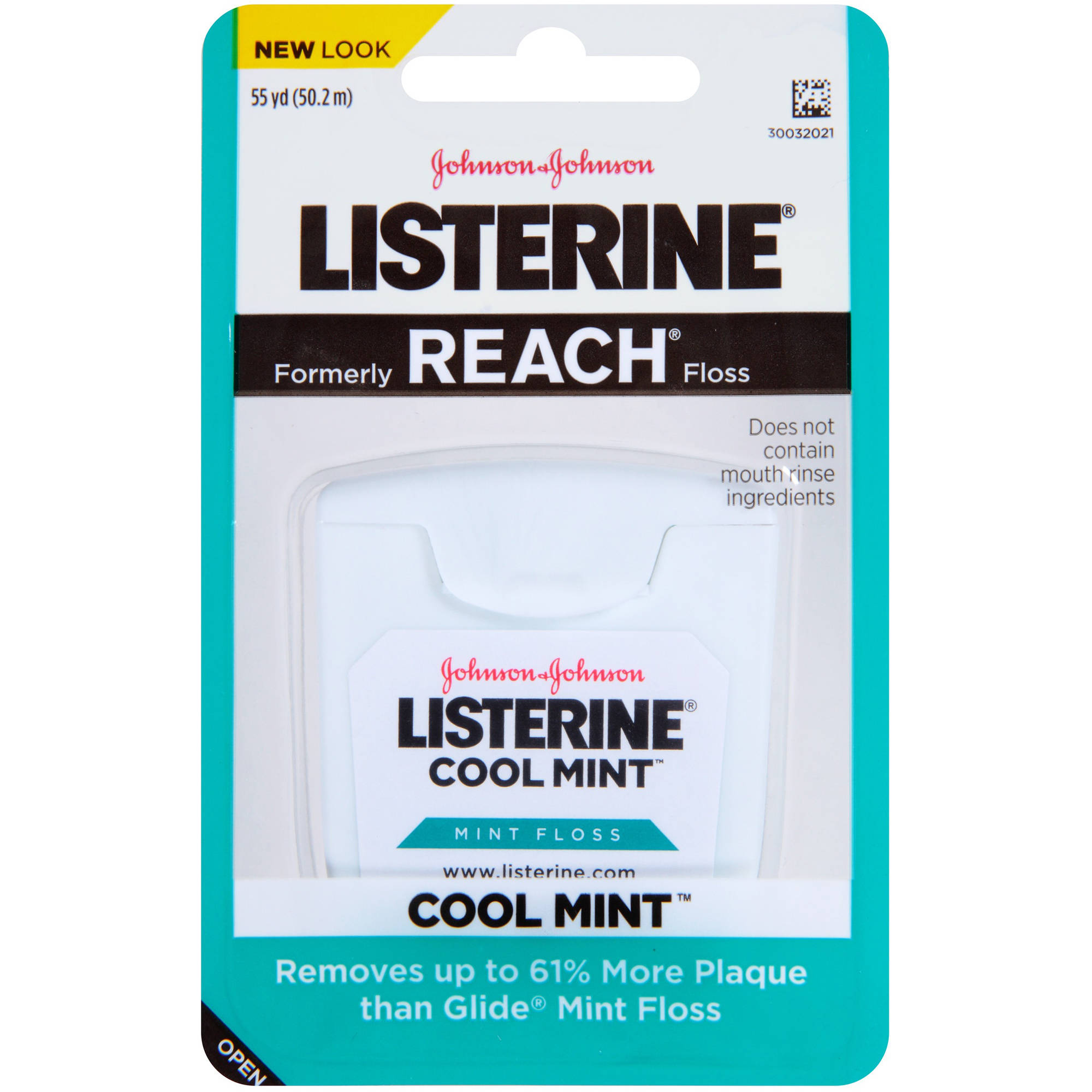 Listerine Cool Mint Interdental Floss, 55 Yards