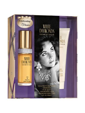 Elizabeth Taylor Perfume Gift Set, White Diamonds , 2 Pieces