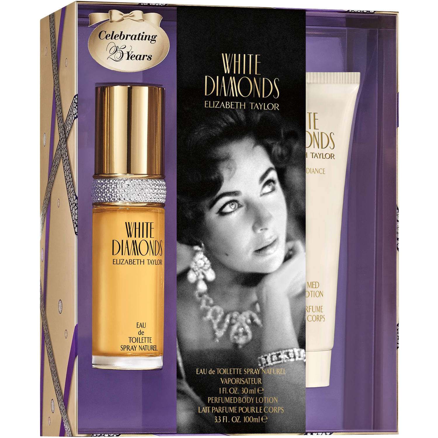Elizabeth Taylor White Diamonds 2-Piece Perfume Gift Set