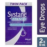 Systane Balance Lubricant Eye Drops Restorative Formula TWIN - 2 CT