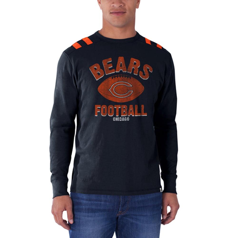 Chicago Bears - Football Logo Bruiser Premium Long Sleeve T-Shirt