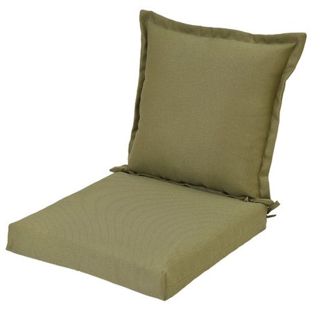 Winston Porter Reversible Pillow Back Indoor Outdoor Dining Chair