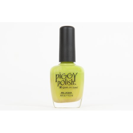 Pretty Green (Piggy Polish I'll Get You My Pretty, Lime Green crème, .46 fl oz)