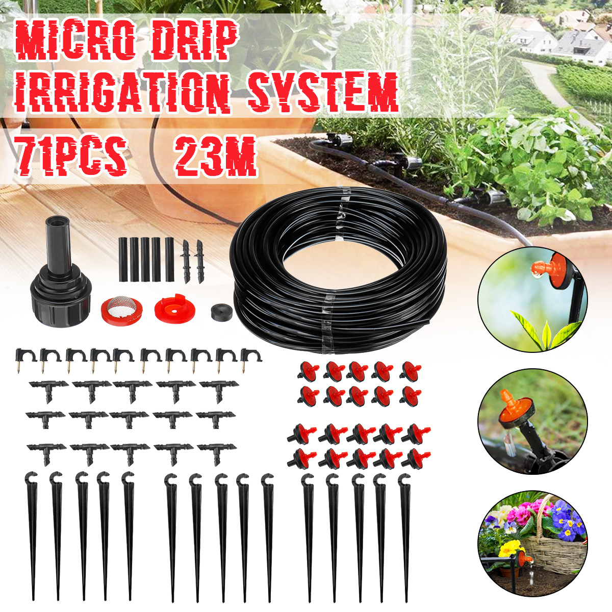 Lawn//Farm Automatic Sprinkler System DIY Garden Micro Drip Irrigation Hose
