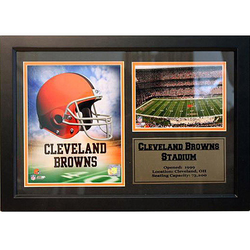NFL Cleveland Browns Photo Stat Frame, 12x18