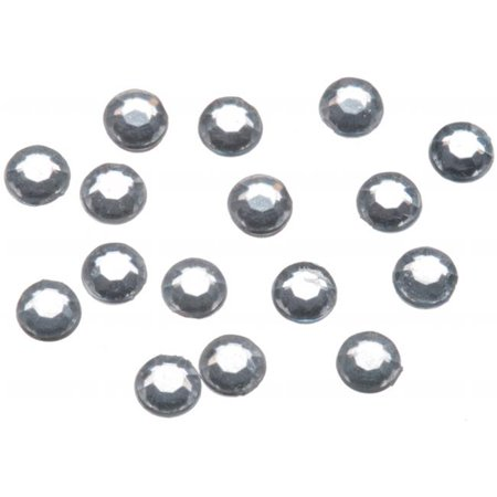Stick On Rhinestones 5mm 200-Pkg-Crystal (Stick On Jewels)