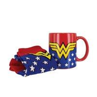 DC Comics Wonder Woman Mug & Sock Set