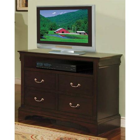 renaissance tv chest 4 drawers. Black Bedroom Furniture Sets. Home Design Ideas