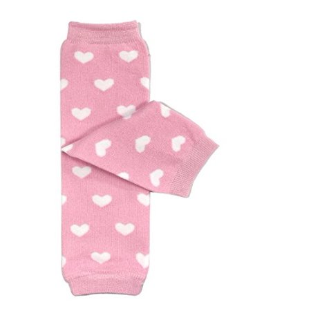 ALLYDREW Dots, Hearts, and Ruffles Colorful Baby Leg Warmers, Hearts (80's Leg Warmers)