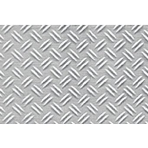 "1:24 Double Diamond Plate Sheet, 7.5""x12"" (2) Multi-Colored"