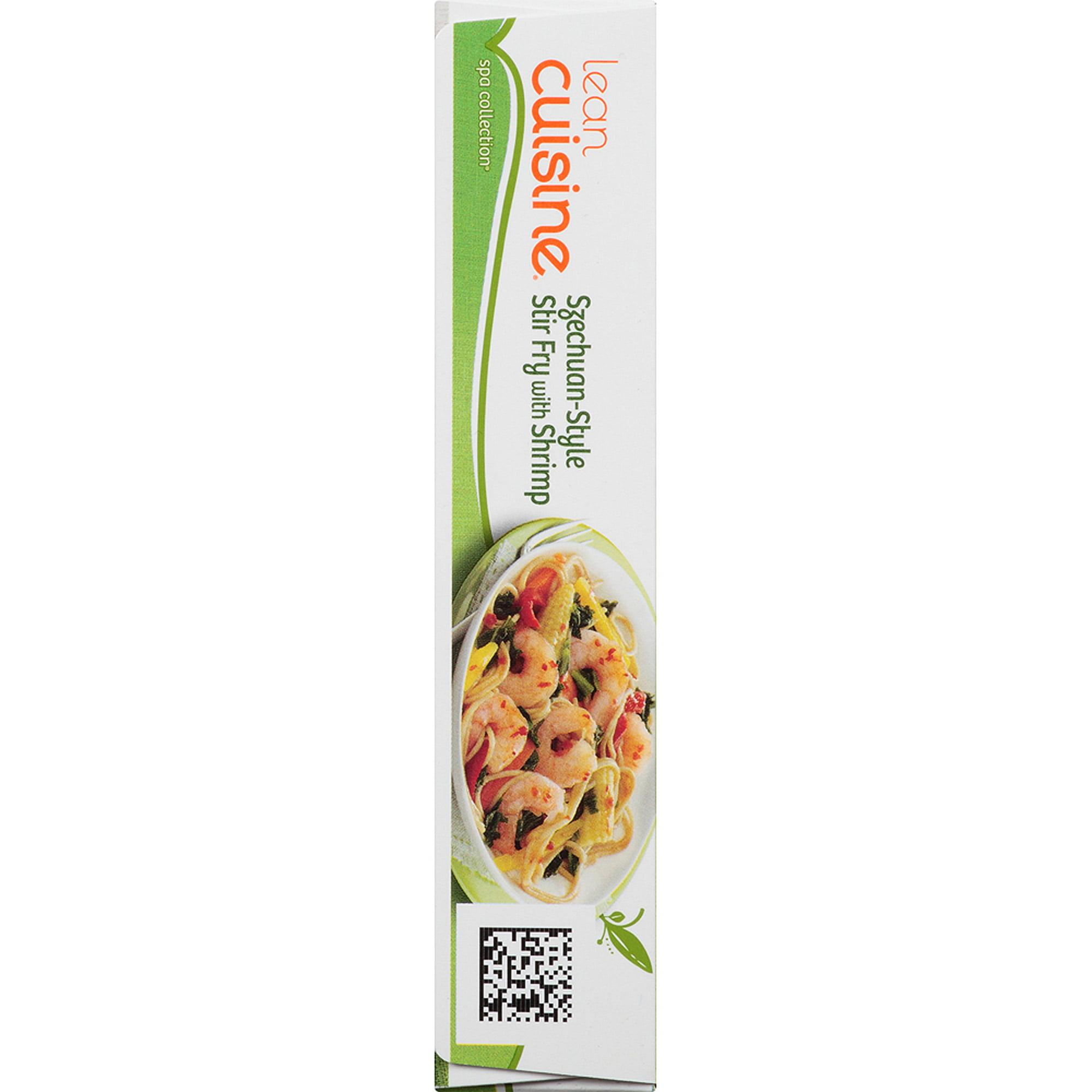 Lean Cuisine Spa Collection Szechuan-Style Stir Fry with Shrimp, 9 ...