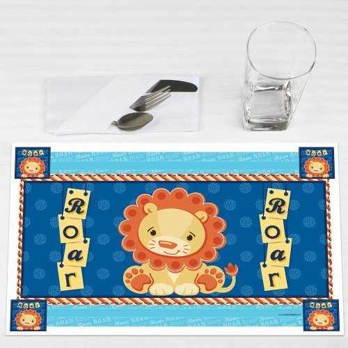 Lion Boy Party Placemats Set of 12 by Big Dot of Happiness, LLC