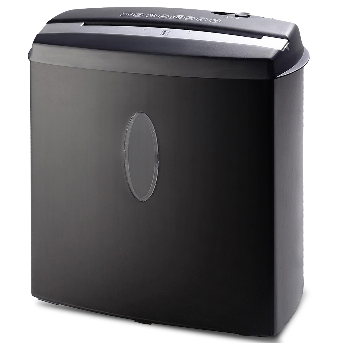 Beau Costway 10 Sheet Cross Cut Paper/Credit Card/Staples Shredder W/ Basket