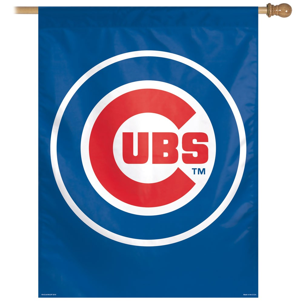 Chicago Cubs Official MLB 27 inch x 37 inch  Banner Flag by Wincraft