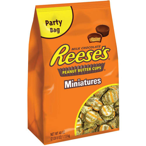 Reese's Peanut Butter Cup Miniatures, 2lb 8 oz