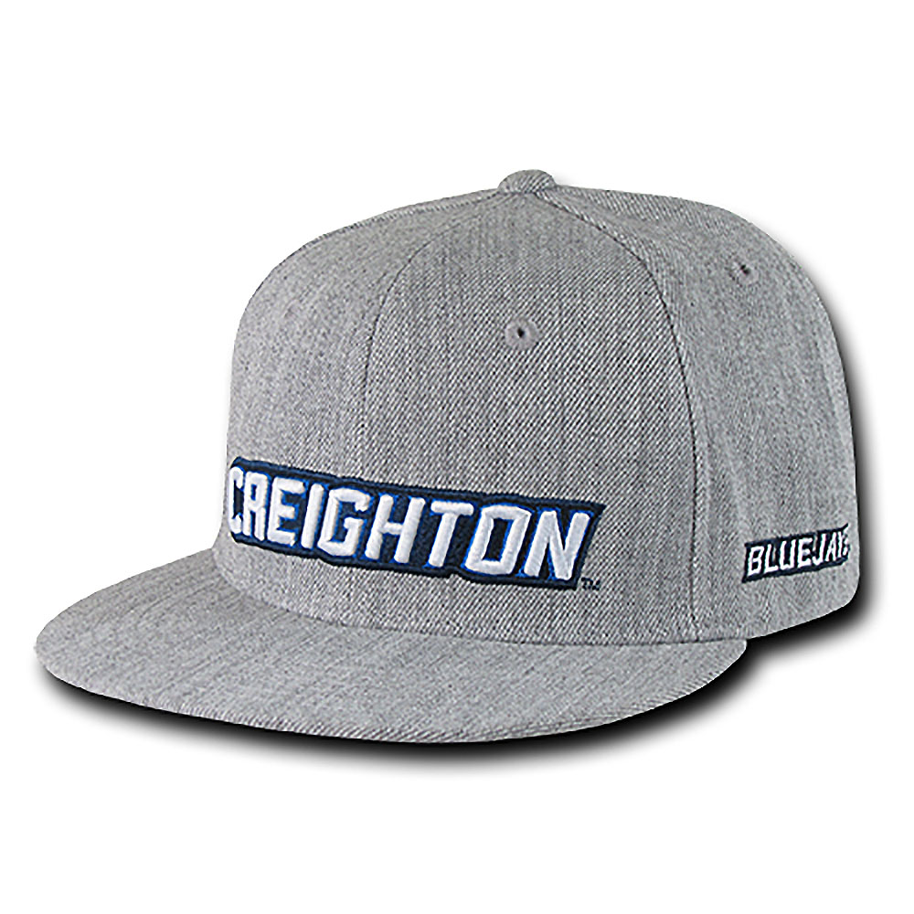 Creighton Bluejays Game Day Fitted Hat (Gray)