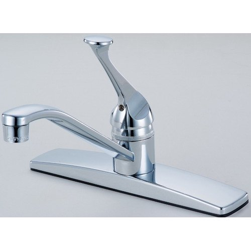 Hardware House Single Handle Kitchen Faucet With Sprayer Finish
