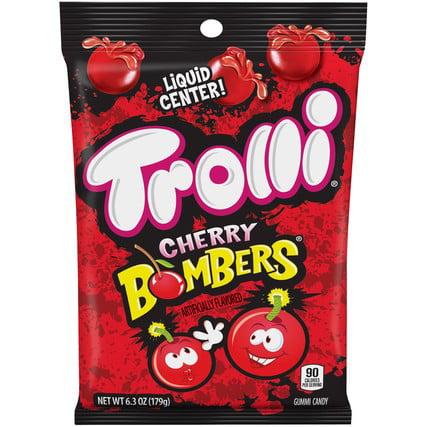 Trolli Cherry Bombers Candy 6 3oz Bag Pack Of 9 Walmart Com Walmart Com