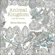 Lark Books Animal Kingdom Color Me, Draw Me
