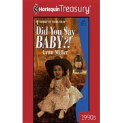 Did You Say Baby?! - eBook