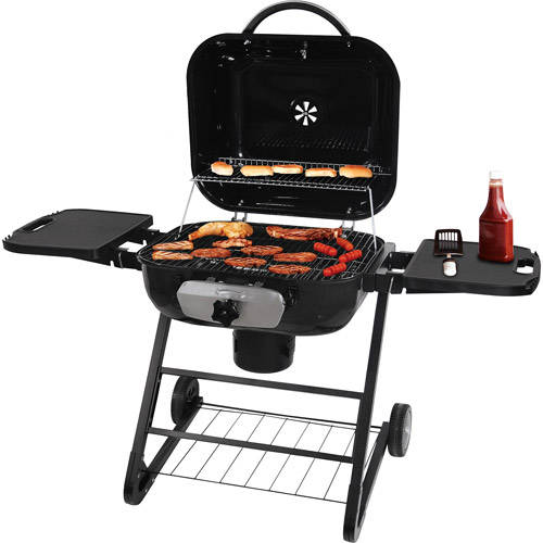 Uniflame 480 sq. inch Charcoal Grill, Black