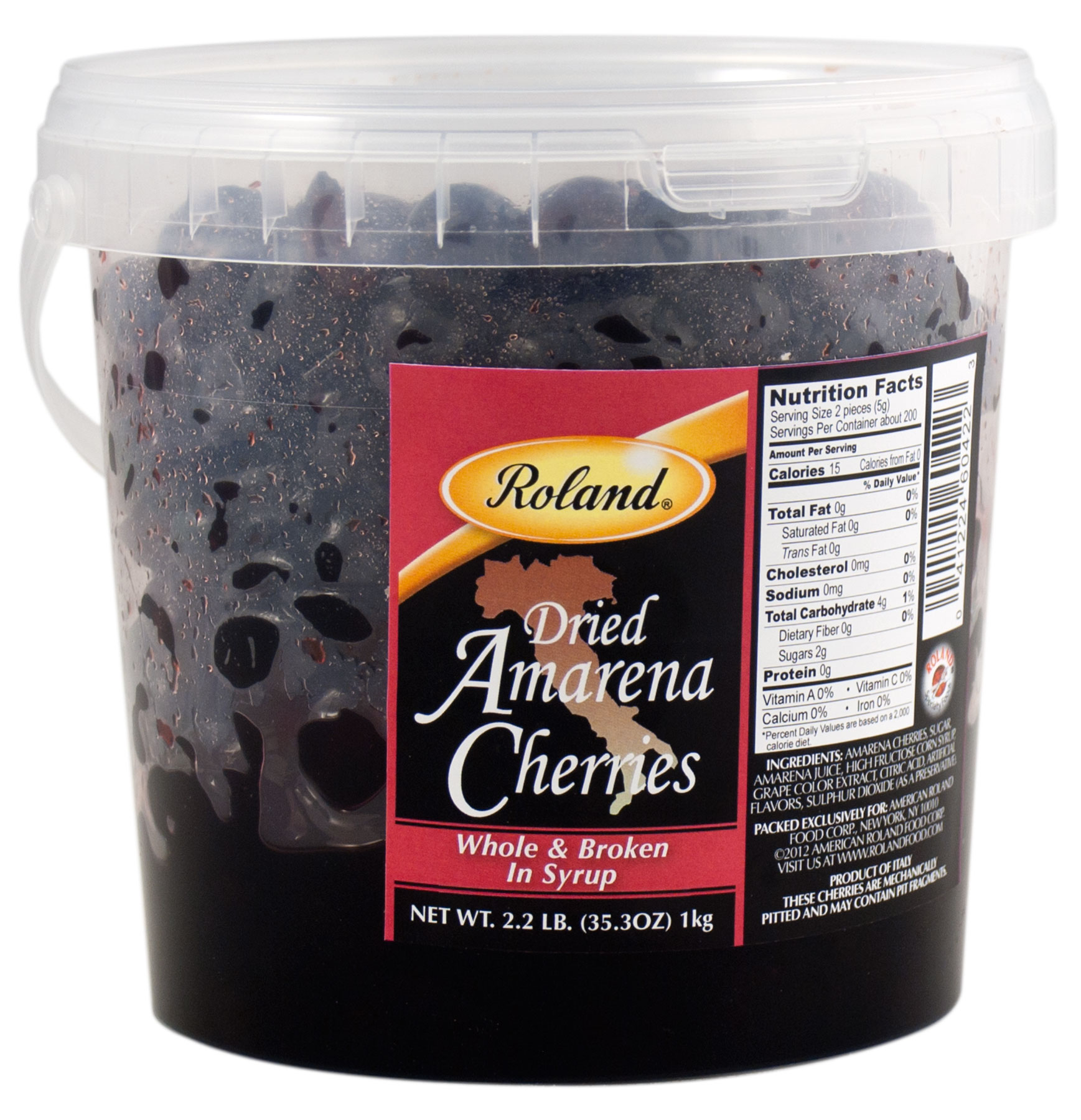 Roland Cherries, Dried Amarena, 35.3 Oz by Roland Corporation