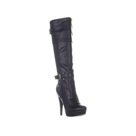 Womens G By Guess Destynn Knee High Boots, Black