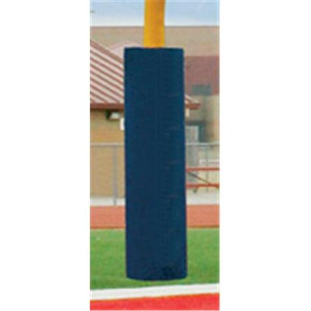 Football Post - First Team FT6060 Foam-Vinyl Post Pad for 6.62 in. Football Goalpost, Scarlet