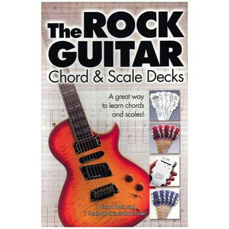 Hal Leonard Rock Guitar Chord and Scale Decks Hal Leonard Master Scale