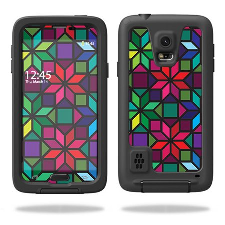 Skin For LifeProof Samsung Galaxy S5 fre Case  – Stained Glass Window   MightySkins Protective, Durable, and Unique Vinyl Decal wrap cover   Easy To Apply, Remove, and Change Styles   Made in the USA Unique Stained Glass