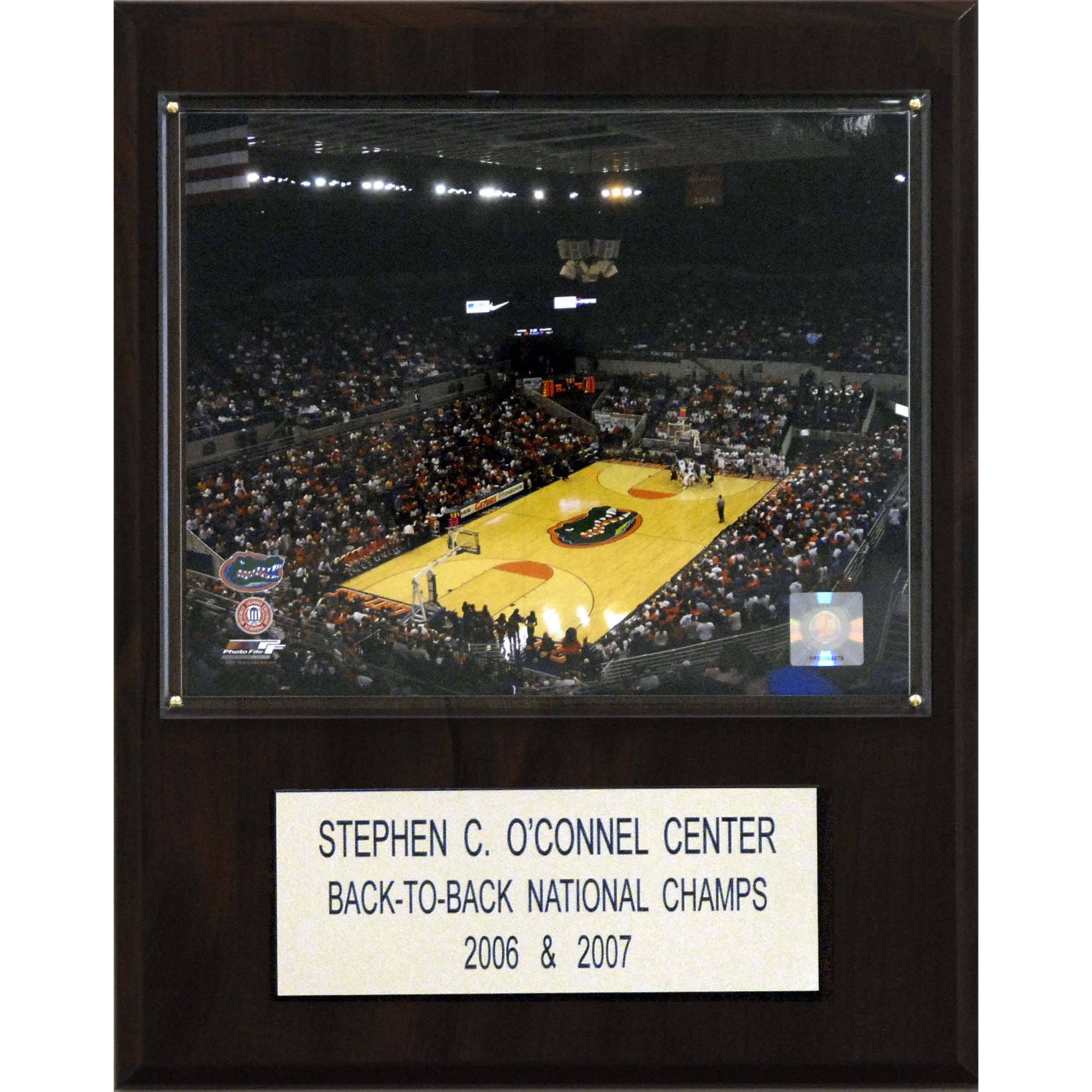 C&I Collectables NCAA Basketball 12x15 Stephen C. O'Connell Center Arena Plaque