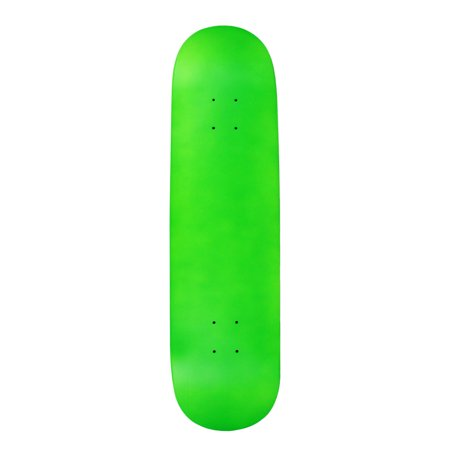 Skateboard Deck Blank Neon Green 8.0