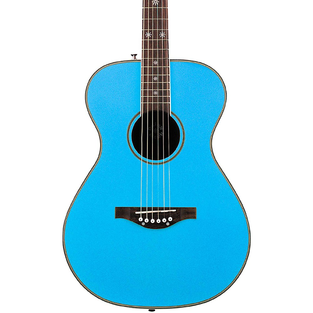 Daisy Rock Pixie Acoustic Guitar Sky Blue by Daisy Rock