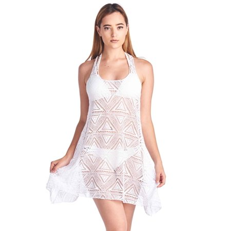 Women's T-Back Cover Up Beach Dress Swimwear Made in the