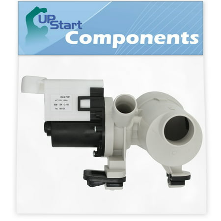 W10730972 Washer Drain Pump Motor Assembly Replacement for Maytag MHWZ600TW00 Washing Machine - Compatible with WPW10730972 850024 Water Pump Assembly - UpStart Components
