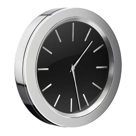 This button pops up a carousel that allows scrolling through close up  images available for this product. Smedbo Self Adhesive Bathroom Mirror Wall Clock   Walmart com