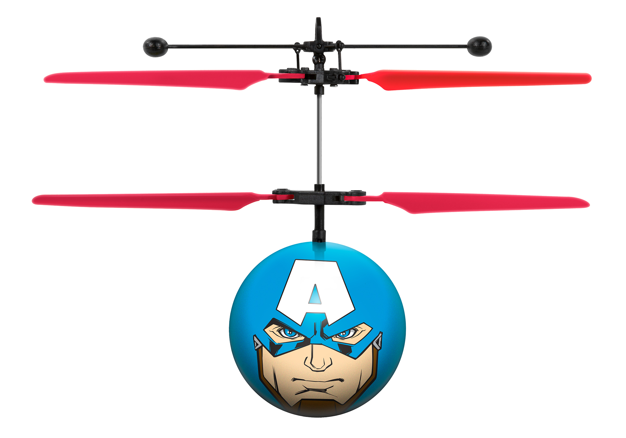 Marvel Avengers Captain America IR UFO Ball Helicopter by World Tech Toys