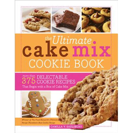 Ultimate Cake Mix Cookie Book, The - Halloween Cookie Cake Recipe